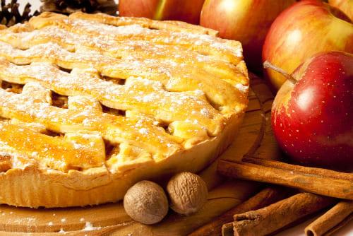 Простые яблочные пирогиы